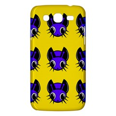 Blue And Yellow Fireflies Samsung Galaxy Mega 5 8 I9152 Hardshell Case  by Valentinaart