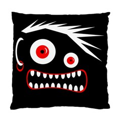 Crazy Monster Standard Cushion Case (two Sides) by Valentinaart