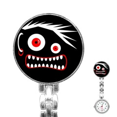 Crazy Monster Stainless Steel Nurses Watch by Valentinaart