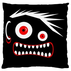 Crazy Monster Standard Flano Cushion Case (one Side) by Valentinaart