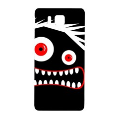 Crazy Monster Samsung Galaxy Alpha Hardshell Back Case by Valentinaart