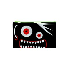 Crazy Monster Cosmetic Bag (xs) by Valentinaart