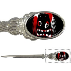 Zombie Face Letter Openers by Valentinaart