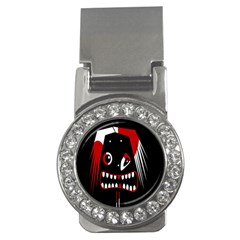 Zombie Face Money Clips (cz)  by Valentinaart