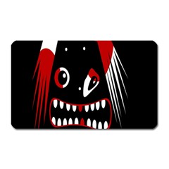Zombie Face Magnet (rectangular) by Valentinaart
