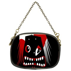 Zombie Face Chain Purses (two Sides)  by Valentinaart