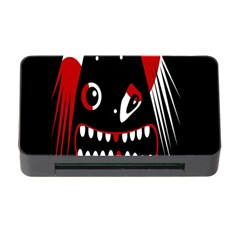 Zombie Face Memory Card Reader With Cf by Valentinaart