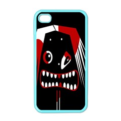 Zombie Face Apple Iphone 4 Case (color) by Valentinaart