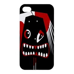 Zombie Face Apple Iphone 4/4s Hardshell Case by Valentinaart