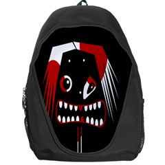 Zombie Face Backpack Bag by Valentinaart