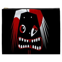Zombie Face Cosmetic Bag (xxxl)  by Valentinaart