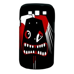 Zombie Face Samsung Galaxy S Iii Classic Hardshell Case (pc+silicone) by Valentinaart