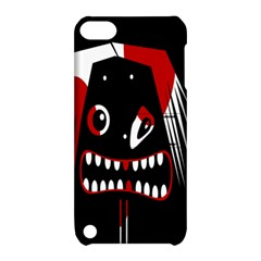 Zombie Face Apple Ipod Touch 5 Hardshell Case With Stand by Valentinaart
