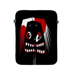 Zombie Face Apple Ipad 2/3/4 Protective Soft Cases by Valentinaart