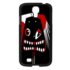 Zombie Face Samsung Galaxy S4 I9500/ I9505 Case (black) by Valentinaart