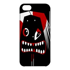 Zombie Face Apple Iphone 5c Hardshell Case by Valentinaart