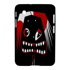 Zombie Face Samsung Galaxy Tab 2 (7 ) P3100 Hardshell Case  by Valentinaart