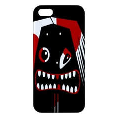 Zombie Face Iphone 5s/ Se Premium Hardshell Case by Valentinaart