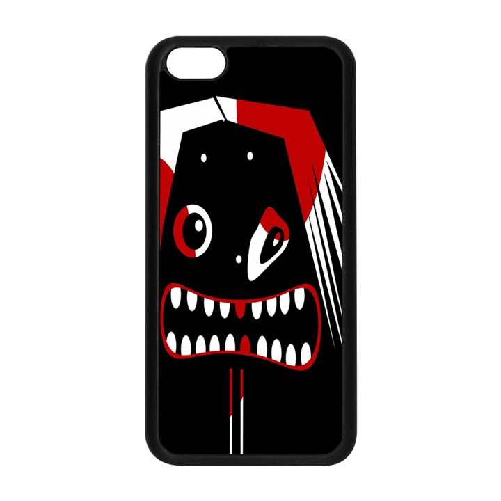 Zombie face Apple iPhone 5C Seamless Case (Black)