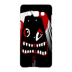 Zombie Face Samsung Galaxy A5 Hardshell Case  by Valentinaart