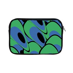 Peacock Pattern Apple Ipad Mini Zipper Cases by Valentinaart