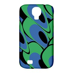 Peacock Pattern Samsung Galaxy S4 Classic Hardshell Case (pc+silicone) by Valentinaart