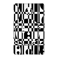 Black And White Pattern Samsung Galaxy Tab S (8 4 ) Hardshell Case  by Valentinaart