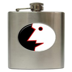 Man Hip Flask (6 Oz) by Valentinaart