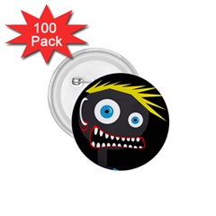 Crazy Man 1 75  Buttons (100 Pack)  by Valentinaart
