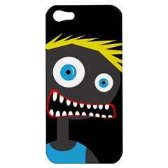 Crazy Man Apple Iphone 5 Hardshell Case by Valentinaart