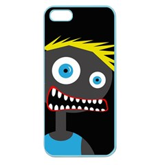 Crazy Man Apple Seamless Iphone 5 Case (color) by Valentinaart