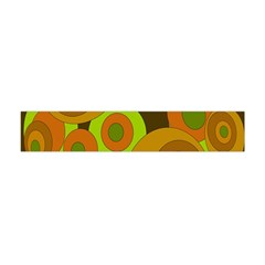 Brown Pattern Flano Scarf (mini) by Valentinaart