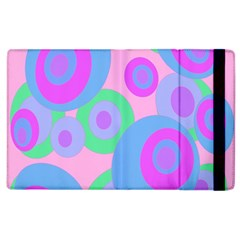 Pink Pattern Apple Ipad 2 Flip Case by Valentinaart
