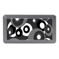 Gray Pattern Memory Card Reader (mini) by Valentinaart