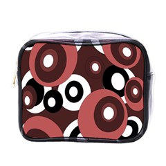 Decorative Pattern Mini Toiletries Bags by Valentinaart