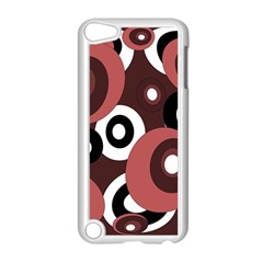 Decorative Pattern Apple Ipod Touch 5 Case (white) by Valentinaart