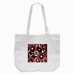 Decorative Pattern Tote Bag (white) by Valentinaart
