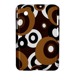 Brown Pattern Samsung Galaxy Tab 2 (7 ) P3100 Hardshell Case
