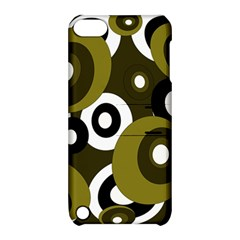 Green Pattern Apple Ipod Touch 5 Hardshell Case With Stand by Valentinaart