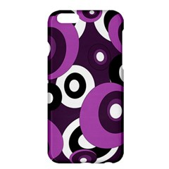 Purple Pattern Apple Iphone 6 Plus/6s Plus Hardshell Case by Valentinaart