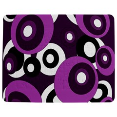 Purple Pattern Jigsaw Puzzle Photo Stand (rectangular) by Valentinaart