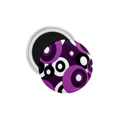 Purple Pattern 1 75  Magnets by Valentinaart