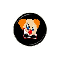 Evil Clown Hat Clip Ball Marker (4 Pack) by Valentinaart