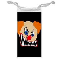 Evil Clown Jewelry Bags by Valentinaart