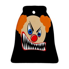 Evil Clown Bell Ornament (2 Sides) by Valentinaart