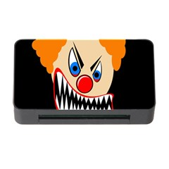 Evil Clown Memory Card Reader With Cf by Valentinaart