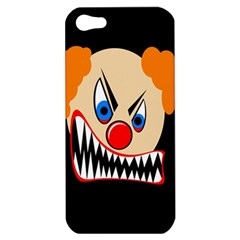 Evil Clown Apple Iphone 5 Hardshell Case by Valentinaart