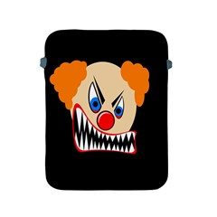 Evil Clown Apple Ipad 2/3/4 Protective Soft Cases by Valentinaart