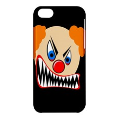 Evil Clown Apple Iphone 5c Hardshell Case by Valentinaart