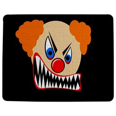 Evil Clown Jigsaw Puzzle Photo Stand (rectangular) by Valentinaart